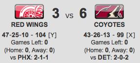 Detroit vs. Phoenix