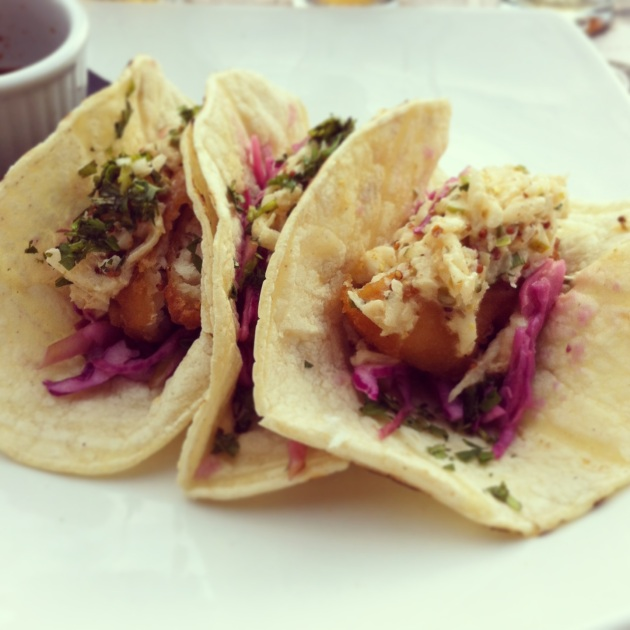 Amsterdam BrewHouse Fish Tacos